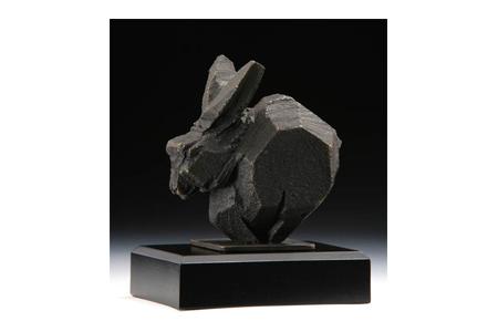 【八方系列】藝術銅雕-兔.祥瑞