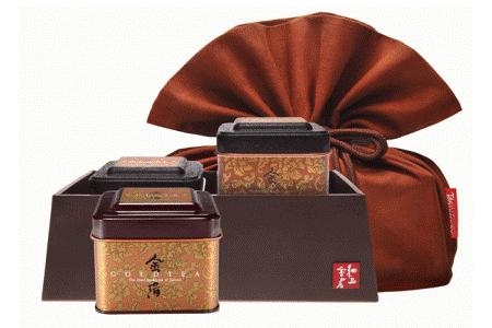 細品香茗-金箔茶禮盒