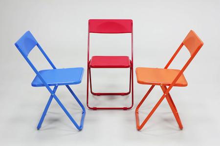 Slim 司令輕薄折合椅(彩色系列)【買五送一方案】
