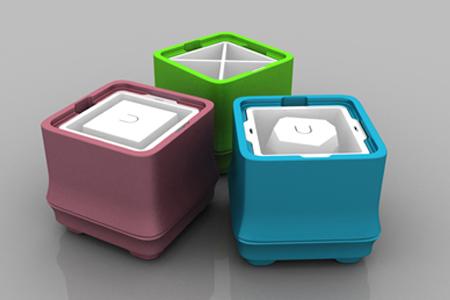 POLAR ICE 極地冰盒方竹系列-三色超值組