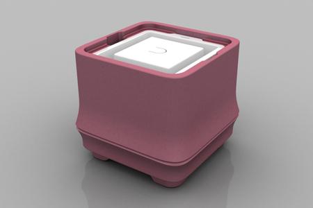 極地冰盒方竹系列-粉色(正方形冰)
