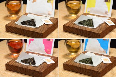 霹靂袋茶一套四款