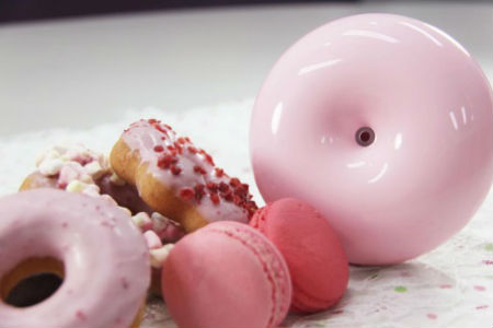 馬卡龍香氛水氧機 (粉色)+澳洲精油X1