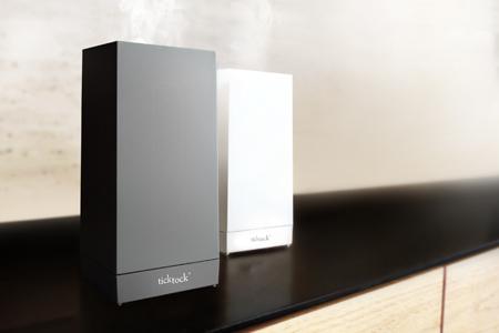 水墨-質感超音波香氛水氧儀(黑色)+澳洲精油X1